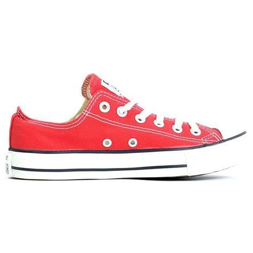 CONVERSE - Chuck Taylor Classic Colors Red Low (RED) rozmiar: 42.5, kolor czerwony