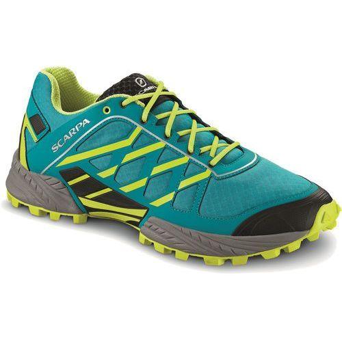 Scarpa Neutron Buty do biegania Mężczyźni zielony/turkusowy 41 2016 Buty trailowe, kolor zielony