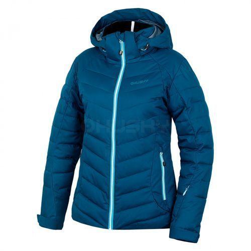 Husky kurtka narciarska damska Weris, ciemno-niebieska S (8592287079173)