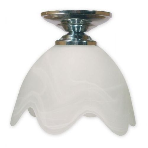 Podsufitka chrom lampa sufitowa 1-punktowa 001/W1 K_2, 001/W1 K_2