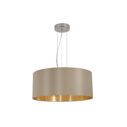 Eglo  31607 - lampa wisząca maserlo 3xe27/60w/230v (9002759316075)