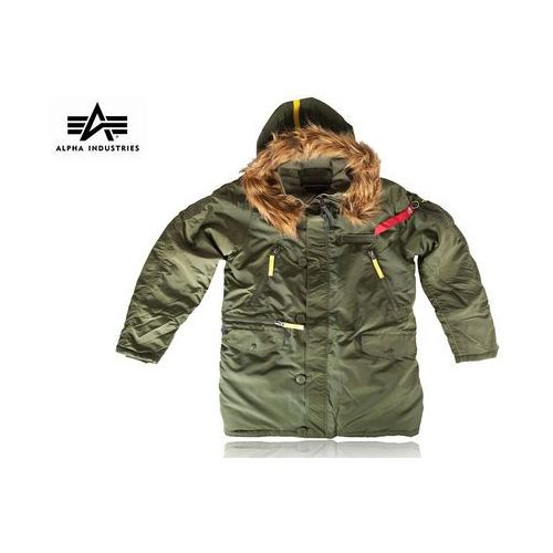 Kurtka Alpha Industries PPS N-3B Parka dark green