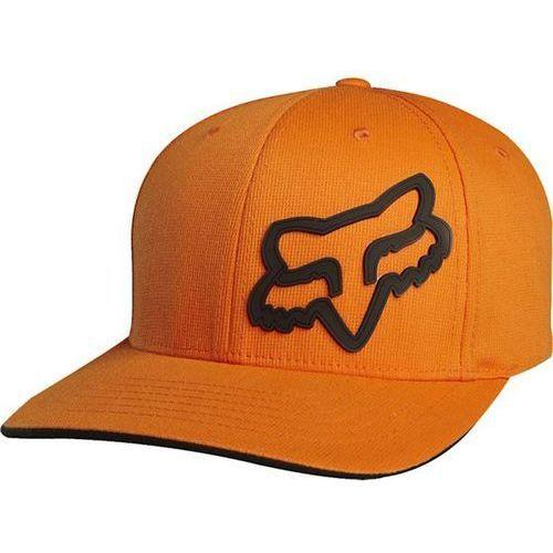 Fox Czapka z daszkiem - signature flexfit orange (009) rozmiar: xs/s