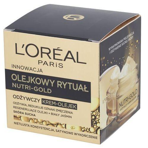 Nutri Gold olejkowy rytuał odżywczy krem-olejek skóra sucha 50ml