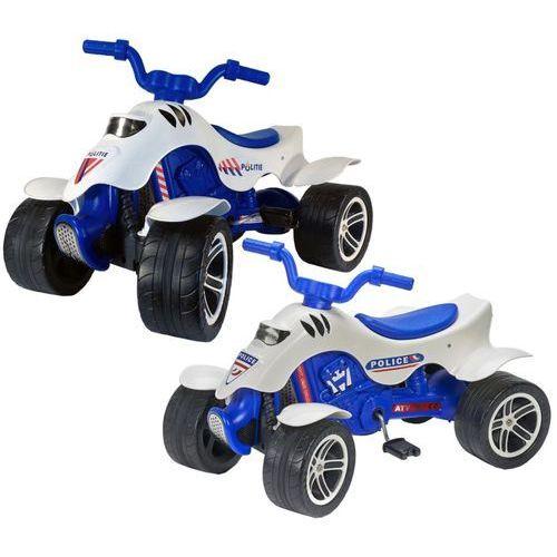 Falk rowerek quad policyjny, niebiesko-biały, 3/7 (3016200006077)
