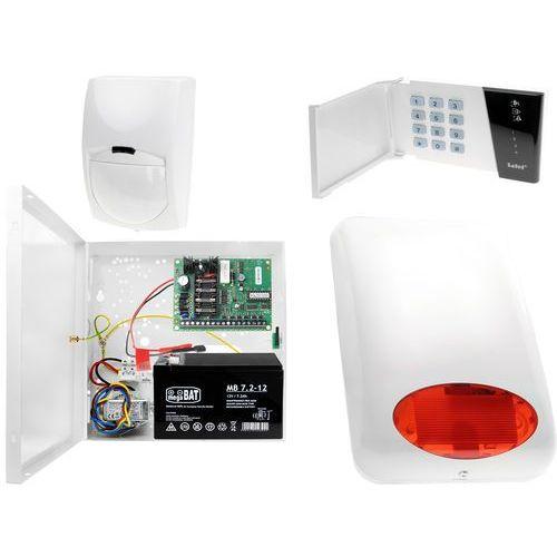 Satel set System alarmowy: płyta główna ca-4 vp + manipulator ca-4 vkled + 1x czujnik ruchu + akcesoria