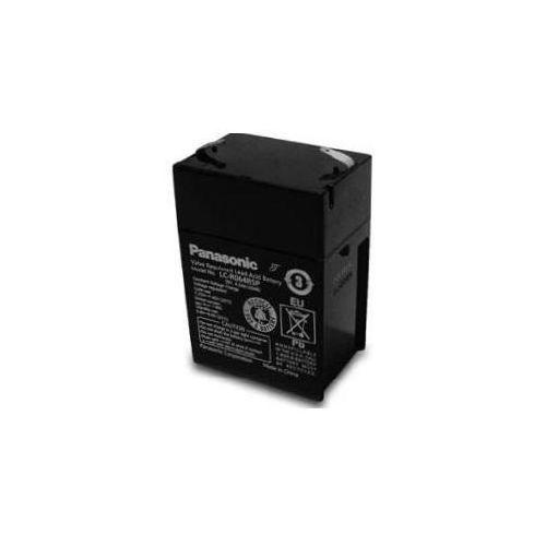 Akumulator agm  lc-r 064r5 6v 4.5ah t1, marki Panasonic