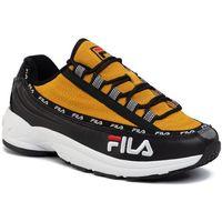 Sneakersy FILA - Dstr97 S 1010712.12R Black/Citrus, kolor żółty