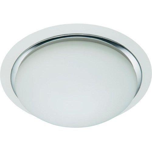 Lampa sufitowa Brilliant 93852/75, E27, (ØxW) 35 cmx12 cm, biały (matowy), chrom (4004353116537)