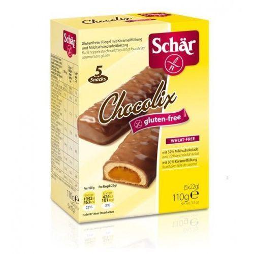 Chocolix- baton czekoladowy (5x22g) bezglutenowy Schar, 8008698014349