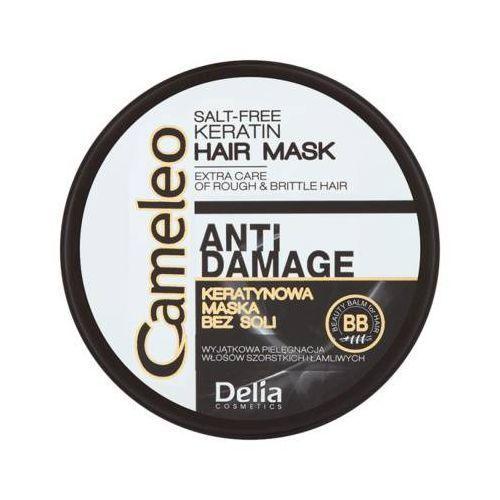 Delia cosmetics 200ml cameleo maska keratynowa do włosów zniszczonych