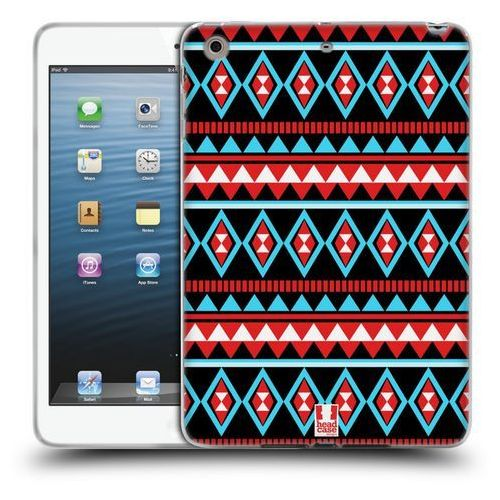 Etui silikonowe na tablet - Aztec Patterns RED AND BLUE