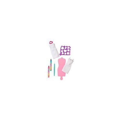 Barbie Zr�b to sama: Akwarelowe wzory Mattel (r�owo-niebieskie)
