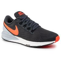 Buty - air zoom structure 22 aa1636 010 anthracite/bright crimson marki Nike