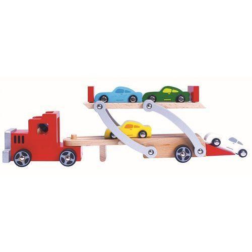 BINO Ciężarówka do przewożenia samochodów 84075 (4019359840751)