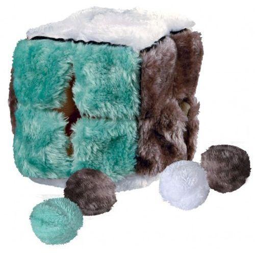 Trixie Pluszowa Kostka z piłeczkami z kocimiętką dla kota nr kat. 4104