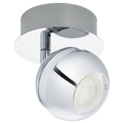 Kinkiet nocito 1 95477 lampa ścienna 1x3,3w gu10 led chrom/biały marki Eglo