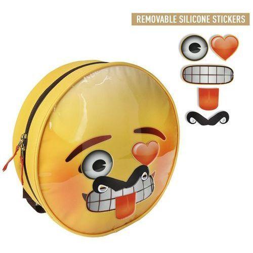 Plecak z naklejkami emoji / emotikony marki Cerda