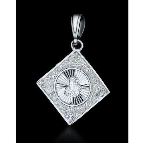 OKAZJA - ?medalik ?,srebro satynowane 925 - produkt z kategorii- Dewocjonalia