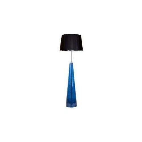 4 concepts berlin navy l233310263 lampa stojąca podłogowa 1x60w e27 niebieski marki 4concepts