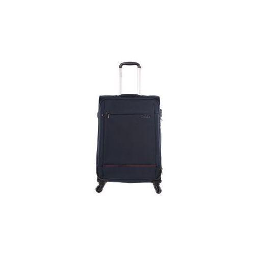 walizka duża z kolekcji new roma materiał poliester zamek szyfrowy z systemem tsa marki Puccini