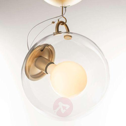 Artemide Miconos szklana lampa sufitowa, mosiądz (8052993057914)