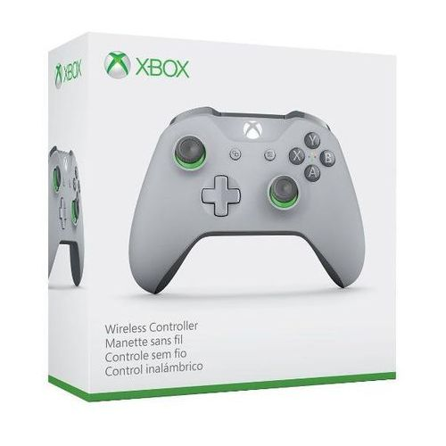 Microsoft  xbox one s kontroler bezprzewodowy (szary) - produkt w magazynie - szybka wysyłka!