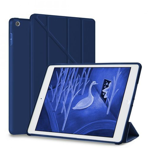 Etui Smart Cover + Back Cover iPad 9.7 2017 / iPad 9.7 2018 Granatowe, kolor niebieski
