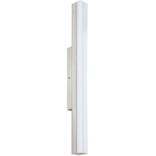 Eglo Kinkiet torretta 94617 lampa oprawa ścienna 1x16w led 60cm nikiel mat