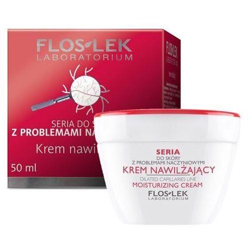 seria do skóry z problemami naczyniowymi - krem nawilżający 50ml marki Floslek