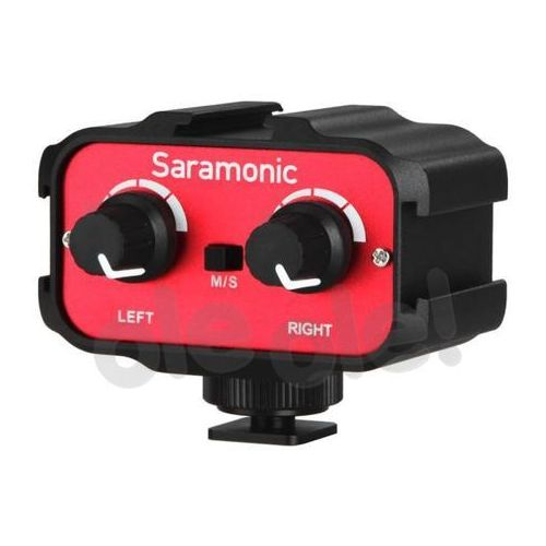 Saramonic  adapter audio sr-ax100 3.5mm in/out vdslr (4897040884662)