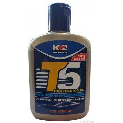 K2 T5 200ml (biała) T5 Pasta lekkościerna do niewielkich defektów lakieru