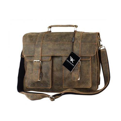 """Kochmanski torba skórzana A4 na laptop 15,6"""" 1946"""
