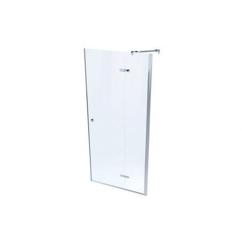 lapaz system drzwi prysznicowe 80 cm szkło przezroczyste mskp-la-001800 marki Massi