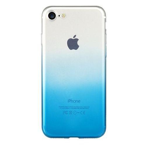 Etui Benks Gradient 0.6mm IPhone 8/7 Blue, kolor niebieski