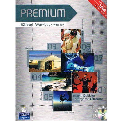 Premium B2 - Workbook (Key) Plus Multi-Rom [Zeszyt Ćwiczeń Z Kluczem Plus Multi-Rom] (144 str.)