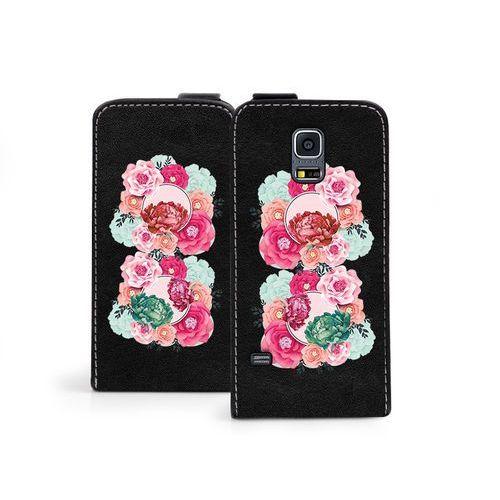 Samsung galaxy s5 mini - etui na telefon flip fantastic- róże marki Etuo flip fantastic