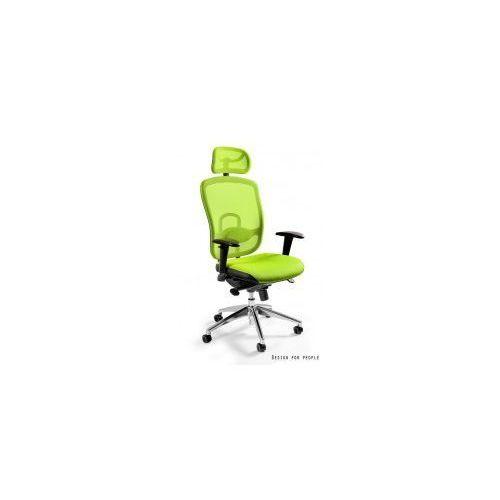 Krzesło biurowe Vip zielone, W-80-9