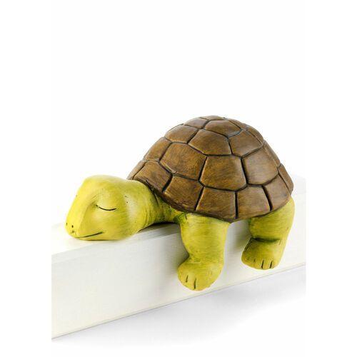 """Bonprix Figura dekoracyjna """"żółw emmi"""" zielono-szary"""