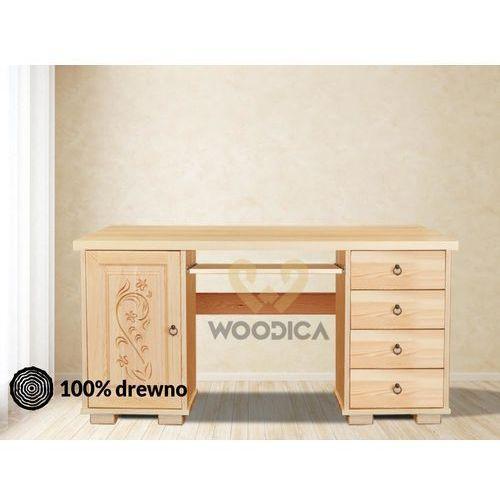 35. biurko góralskie 2ksd marki Woodica