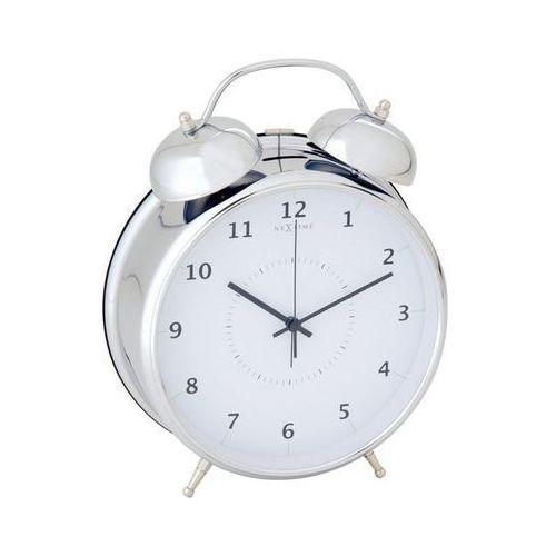 Nextime Budzik wake up srebrny 23 cm (8717545056653)