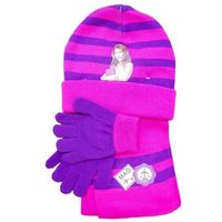 Komplet czapka jesienna / zimowa, rękawiczki i szalik Violetta - Martina Stoessel