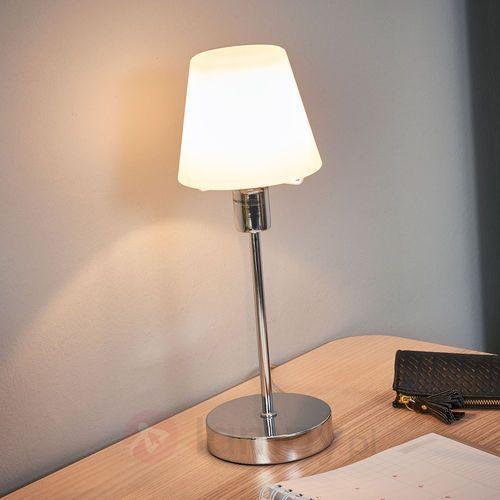 Trio 5955 lampa stołowa Chrom, 1-punktowy - Nowoczesny - Obszar wewnętrzny - 5955 - Czas dostawy: od 4-8 dni roboczych