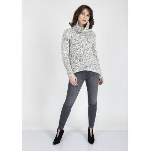 Mkm nicola swe 103 ecru sweter marki Mkmswetry
