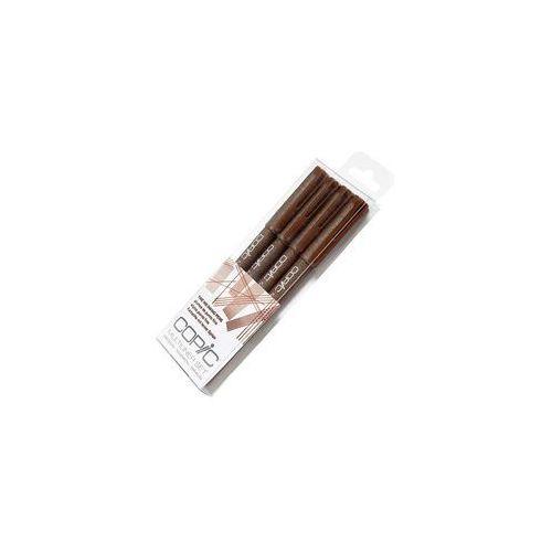 multiliner cienkopis 0.5,0.3,0.1,0.005 brown marki Copic