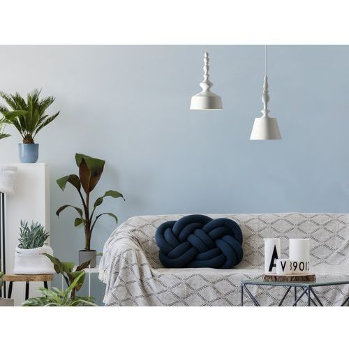 Lampa wisząca biała fluvia marki Beliani