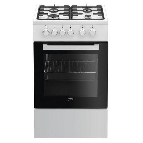 Beko fss52020dw kuchnia gazowo-elektryczna (8690842165122)