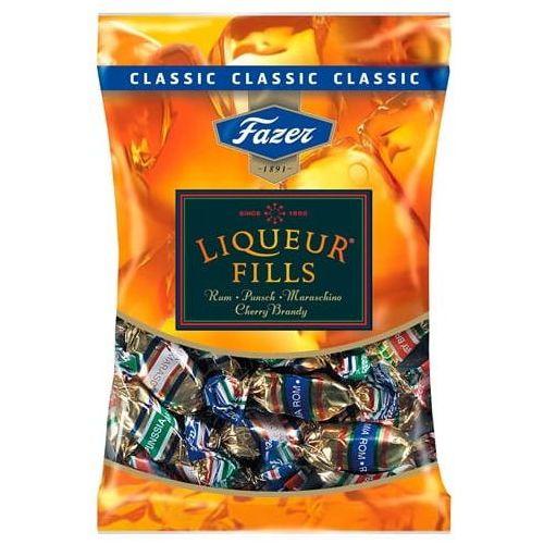 Fazer - liqueur fills - classic - cukierki z likierem - 4 smaki - 220g - z finlandii (6411401035128)