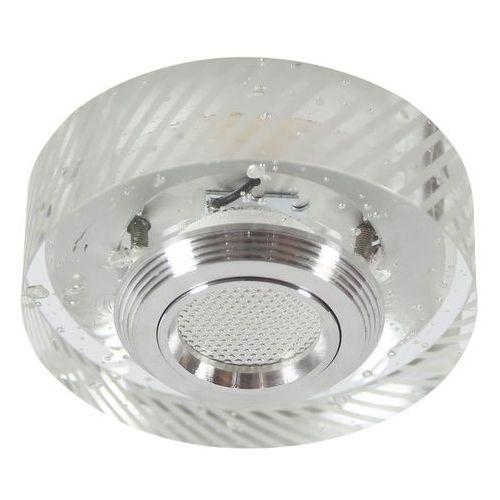 Oprawa halogenowa CANDELLUX SS-33 AL/TR (3 W) LED COB Szkło Transparentne (5906714828815)
