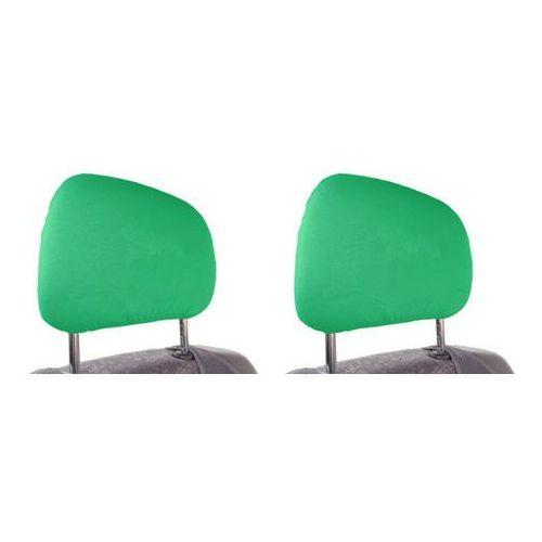 Pokrowce na zagłówki - zielone marki Custo pol